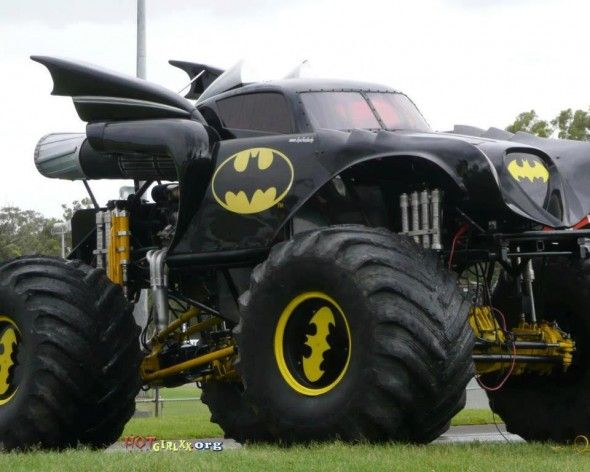 Batmobile Monster