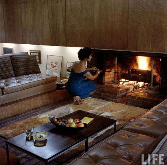 40 best Dana house Ulrich Franzen images on Pinterest Medieval - new blueprint interior design magazine