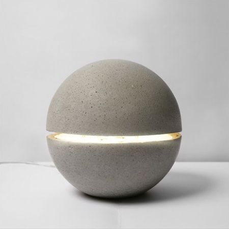 Another Concrete Lamp.