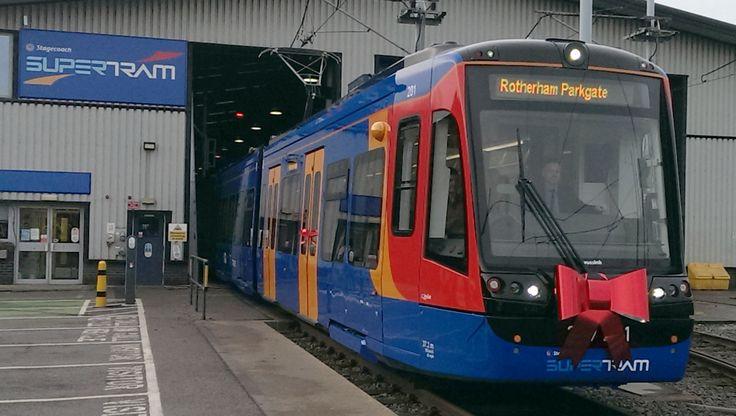 The UK's first Tram Train