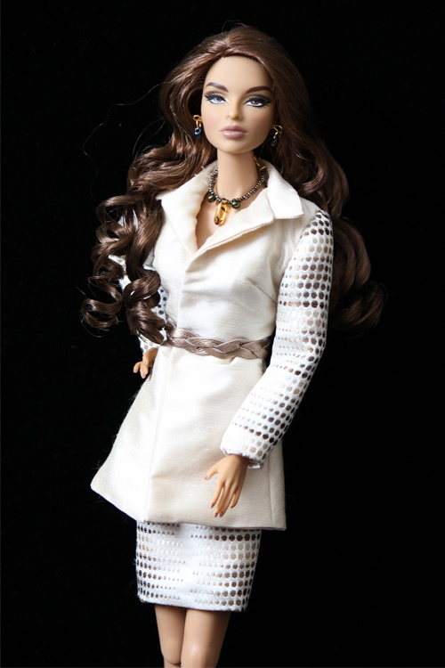 Lovely.  OOAK by Petra Elise fashion Doll Couture