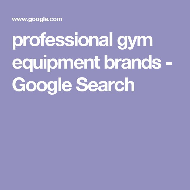 professional gym equipment brands - Google Search