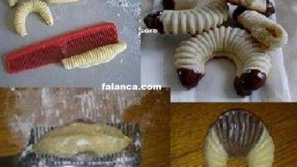 Kurabiyeye Değişik Şekil Vermek #kurabiye #tatlı