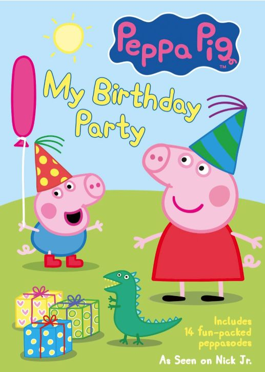 Peppa Pig: My Birthday Party DVD Review and Giveaway - http://extremecouponprofessors.net/2014/03/peppa-pig-birthday-party-dvd-review-giveaway/