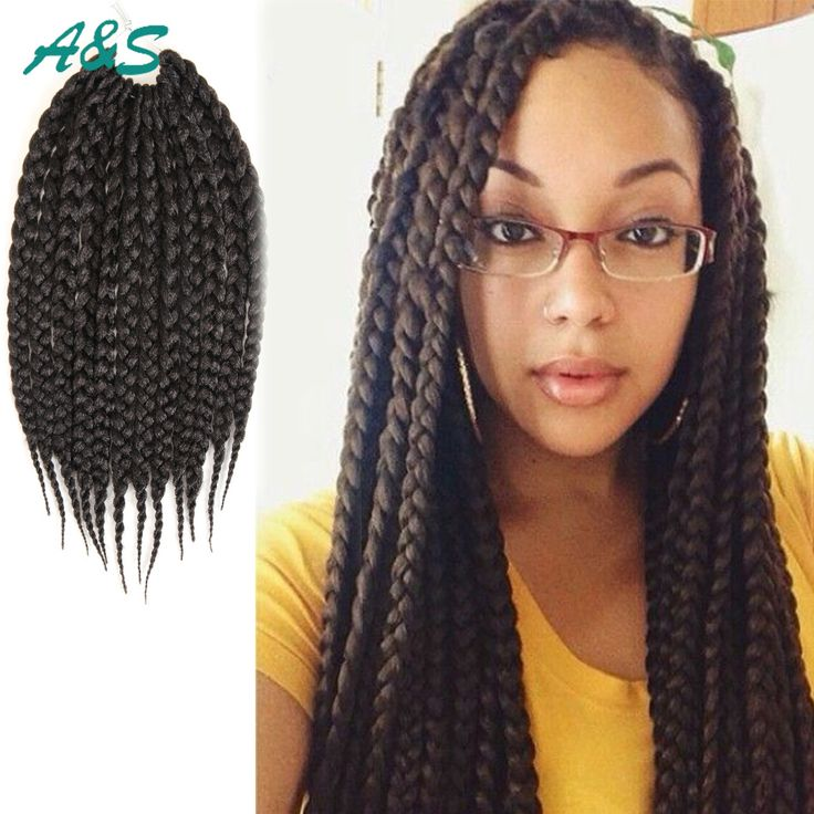Crochet Braids Too Thick : about Thick Box Braids on Pinterest Box Braids, Medium Box Braids ...