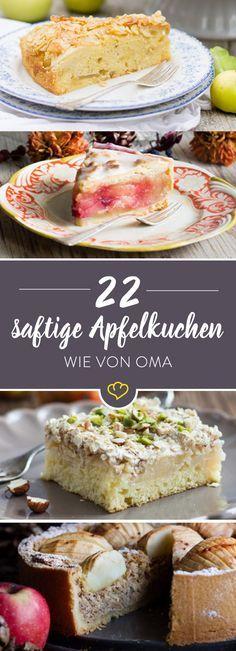 Alle lieben Apfelkuchen! 22 Lieblingsrezepte mit Äpfeln