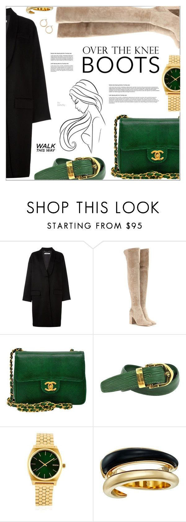 """""""Fall Footwear: Over-The-Knee Boots #2"""" by befunky on Polyvore featuring Givenchy, Gianvito Rossi, Chanel, Louis Vuitton, Nixon, Michael Kors, Nordstrom, Boots, polyvorecommunity and PolyvoreMostStylish"""