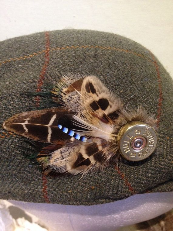 Bentley pheasant feather hat pin  feather by Countryfeatherstweed