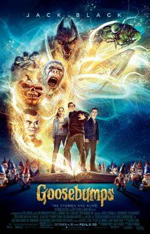 GOOSEBUMPS (2015): A young kid teams up with the niece of young adult horror author R.L. Stine after the writer's imaginary demons are set free on the town of Greendale, Maryland.