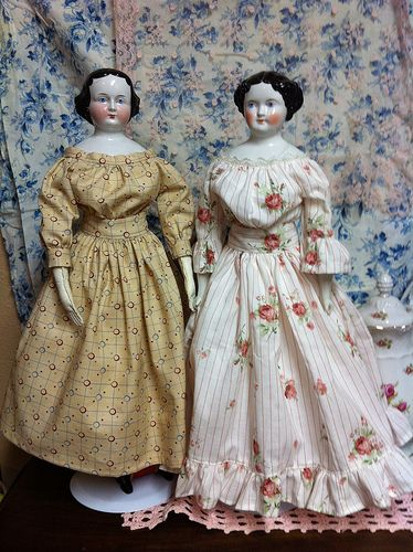 My chinas in their new bodies and dresses