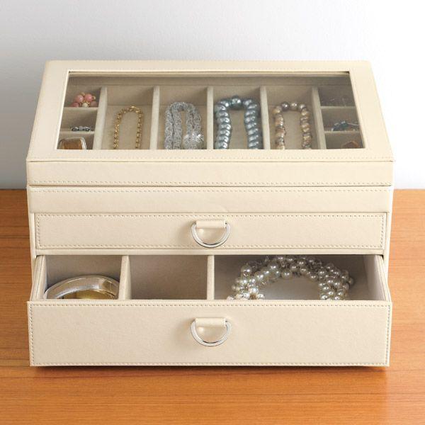 Make your jewelry a statement piece too with our Portofino Jewelry Box!