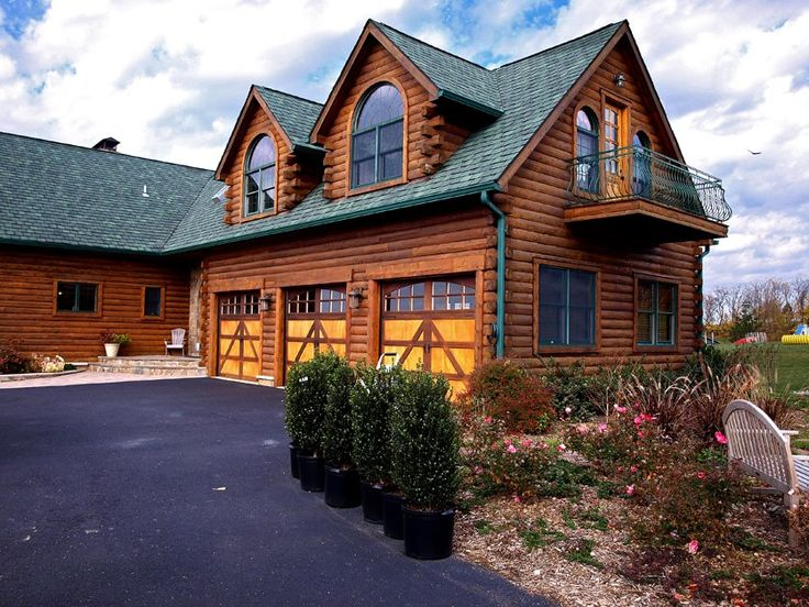 Best 25 cheap log cabins ideas on pinterest shed store for Log home garages