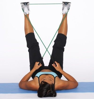 Outer Thigh Sculpt with Resistance Tube