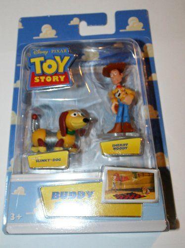 Disney / Pixar Toy Story Mini Figure Buddy Pack Sheriff Woody and Slinky Dog @ niftywarehouse.com #NiftyWarehouse #Toy #Story #Movie #ToyStory #Pixar