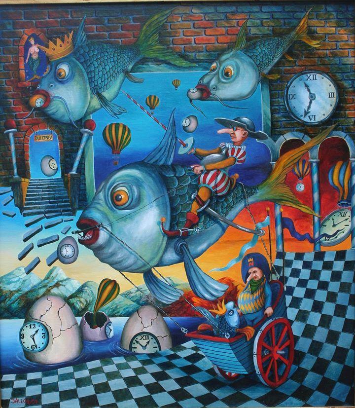 "Jacek Lipowczan - ""Fishing out of water....."""