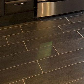This #floor is perfect for a #kitchen! | Ce #plancher est idéal pour la #cuisine!