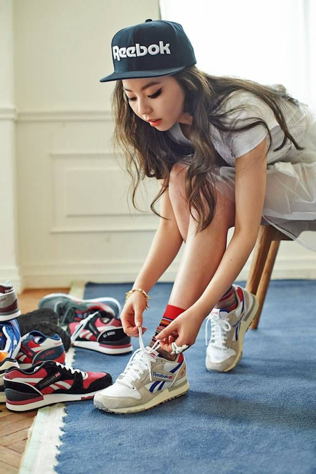 #Reebok GL6000 Grey/White #sneakers