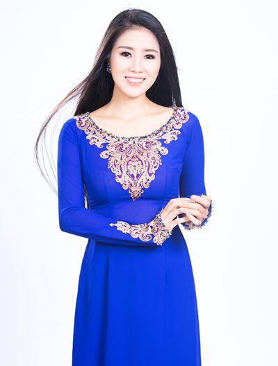 Chọn áo dài sành điệu như phái đẹp Sài thành - 11 | Asian