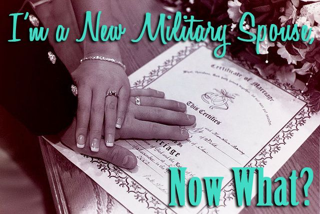 The military comes with a lot, and I mean a lot, of paperwork! We put together a list of the most urgent items to tackle immediately after you are married!