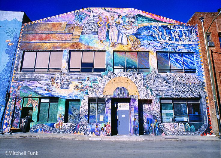 Architecture In The Tenderloin, San Francisco www.mitchellfunk.com