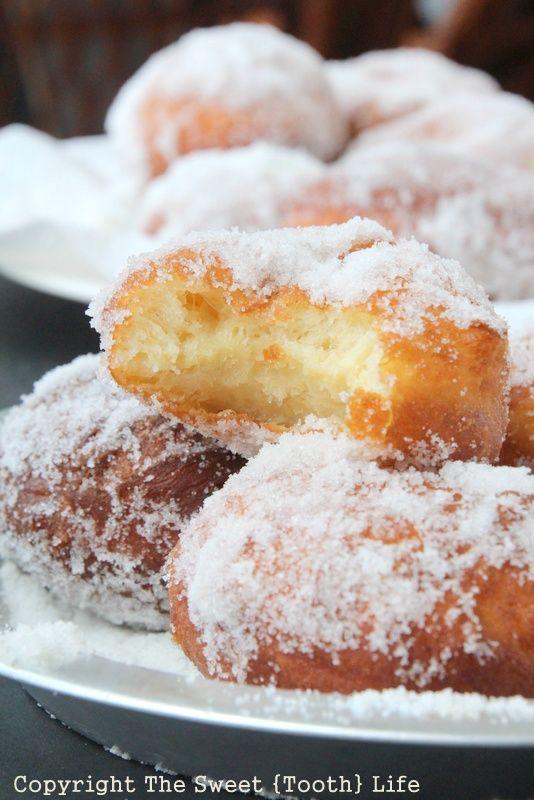 Old Fashioned Sugar Doughnuts