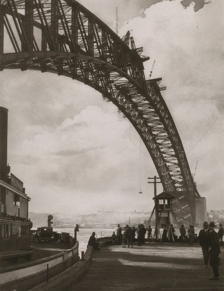 'Arch in the Sky' by Harold Cazneaux. Sydney, 1930.