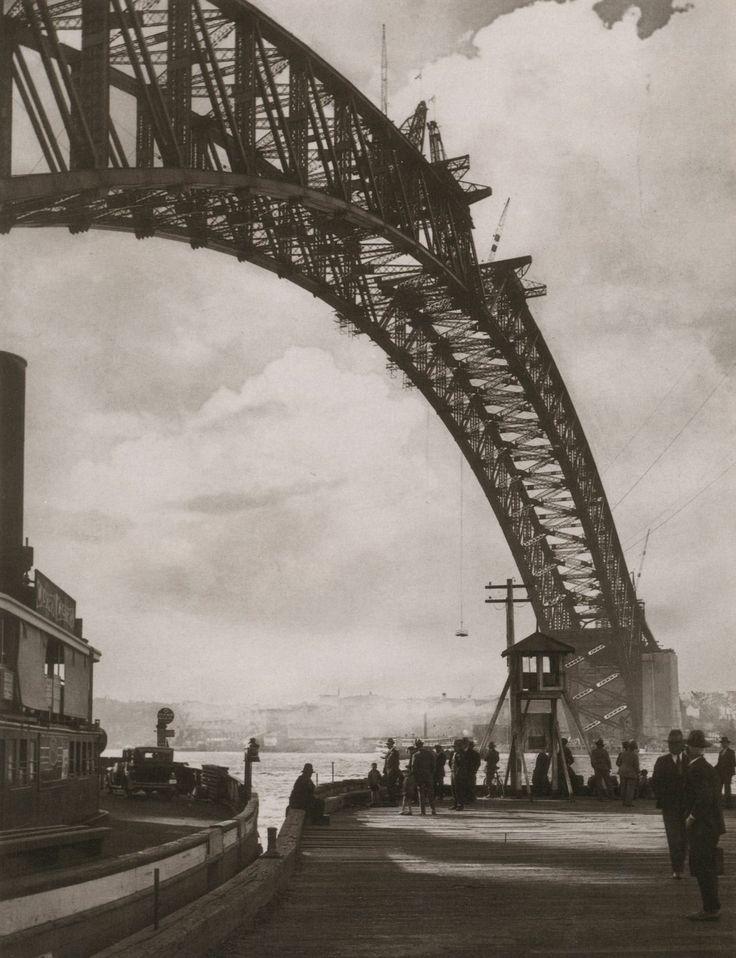 'Arch in the Sky' by Harold Cazneaux. Sydney, 1930.