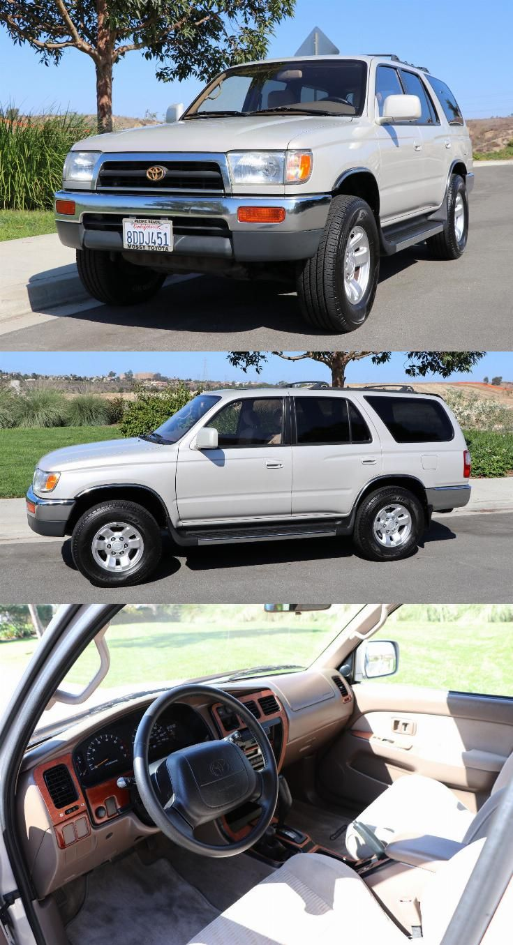Highly Detailed 1997 Toyota 4runner Sr5 Premium 4 215 4 In 2020 Toyota 4runner Sr5 Toyota 4runner 4runner