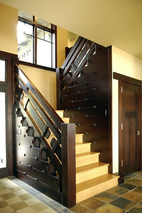 Best 34 Best Arts Crafts Staircases Images On Pinterest 400 x 300