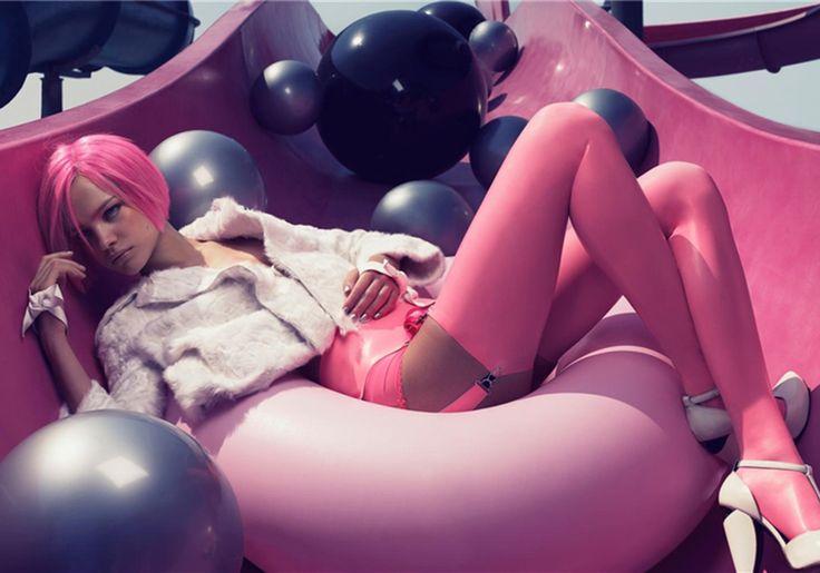 Bubblicicous Editorial by Craig McDean for W Magazine | Trendland: Fashion Blog & Trend Magazine