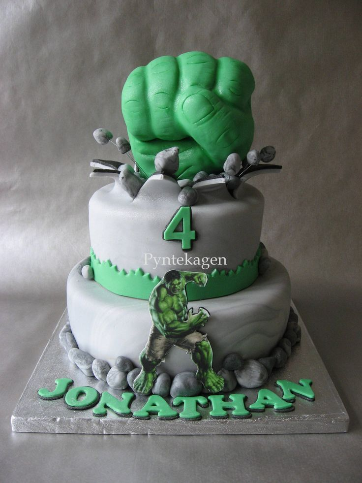 17 Best ideas about Incredible Hulk Cakes on Pinterest ...
