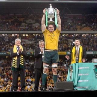 James Horwill Queensland Reds and Wallabies captain