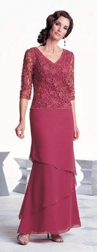vestidos mama de la novia falda con capas - Buscar con Google