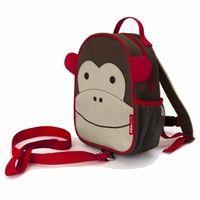 Skip Hop - Zoo Let - Mini peuter rugzak met looplijn - Aap