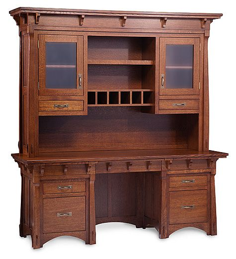 By Simply Amish. Classic Craftsman construction. This style looks best in Quartersawn White Oak and comes standard with German Bronze Pulls.