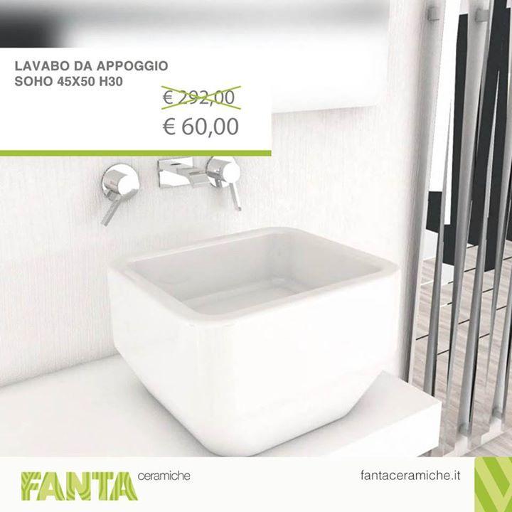 #OFFERTA della settimana.  Un #lavabo da appoggio imponente ed elegante. ;)  Acquistatelo subito http://ift.tt/2yIXl6F