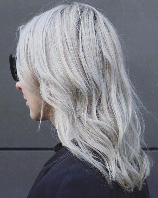 Пепельный цвет волос: как подобрать оттенок (42 фото) – LookRadar
