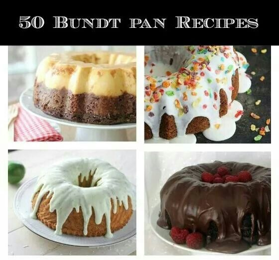 Recipes For Bundt Pan Cakes