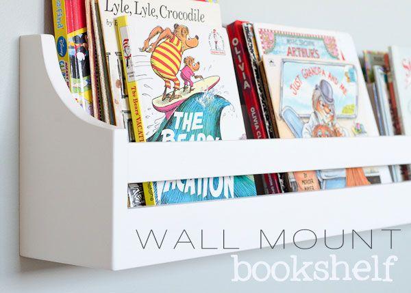 wall mounted bookshelf i finally found these pottery barn knockoff bookshelves…