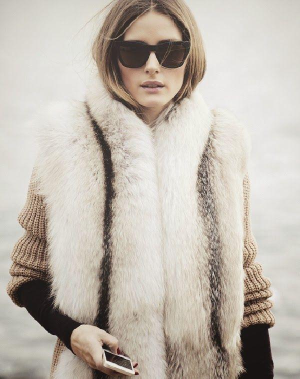 Olivia Palermo at fashion week 2014
