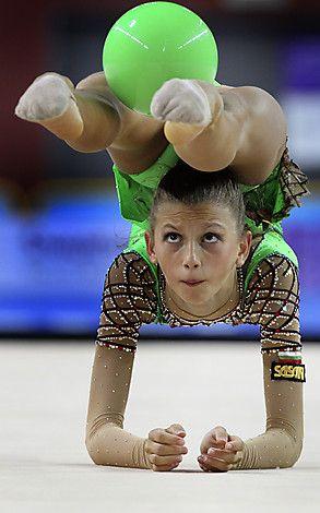 bulgarian rhythmic gymnasts - Anastasiya Kisse