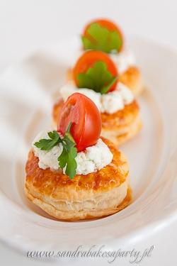 Sandra cuoce una festa! Tapas :: z pomidorem, Feta i Bazylia