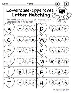 matching capital letter and lower case letters for kids - Rapunga Google