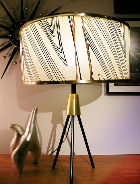 Very mid-century lamp!