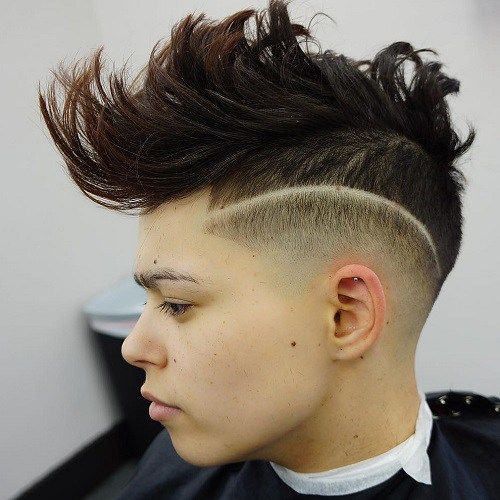 Mohawk Hairstyles 39 Best Mohawk Hairstyles Images On Pinterest  Hairdos Hair Cut