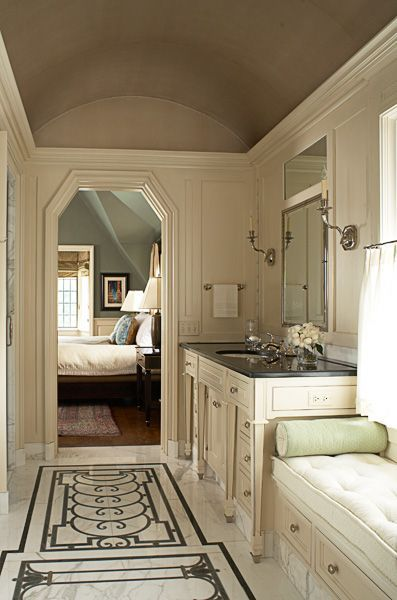 This Elegant Neutral Master Bathroom Was Completed By Brucefoxdesign Luxechicago Luxe