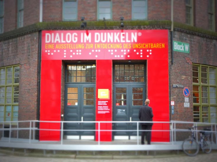Dialog im Dunkeln Hamburg Speicherstadt
