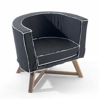 Paola Navone Gray 08 Armchair