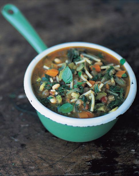 Minestrone Soup | Vegetables Recipes | Jamie Oliver Recipes