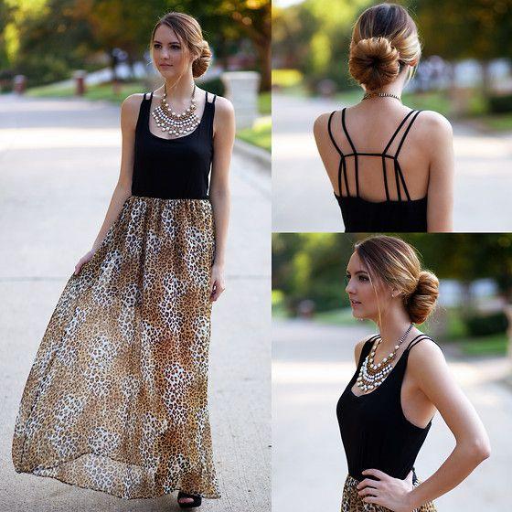Gooooooorrrgeeoussssss!!!!!  Cheetah Dress.  (by Madeline Becker) http://lookbook.nu/look/4115156-Cheetah-Dress